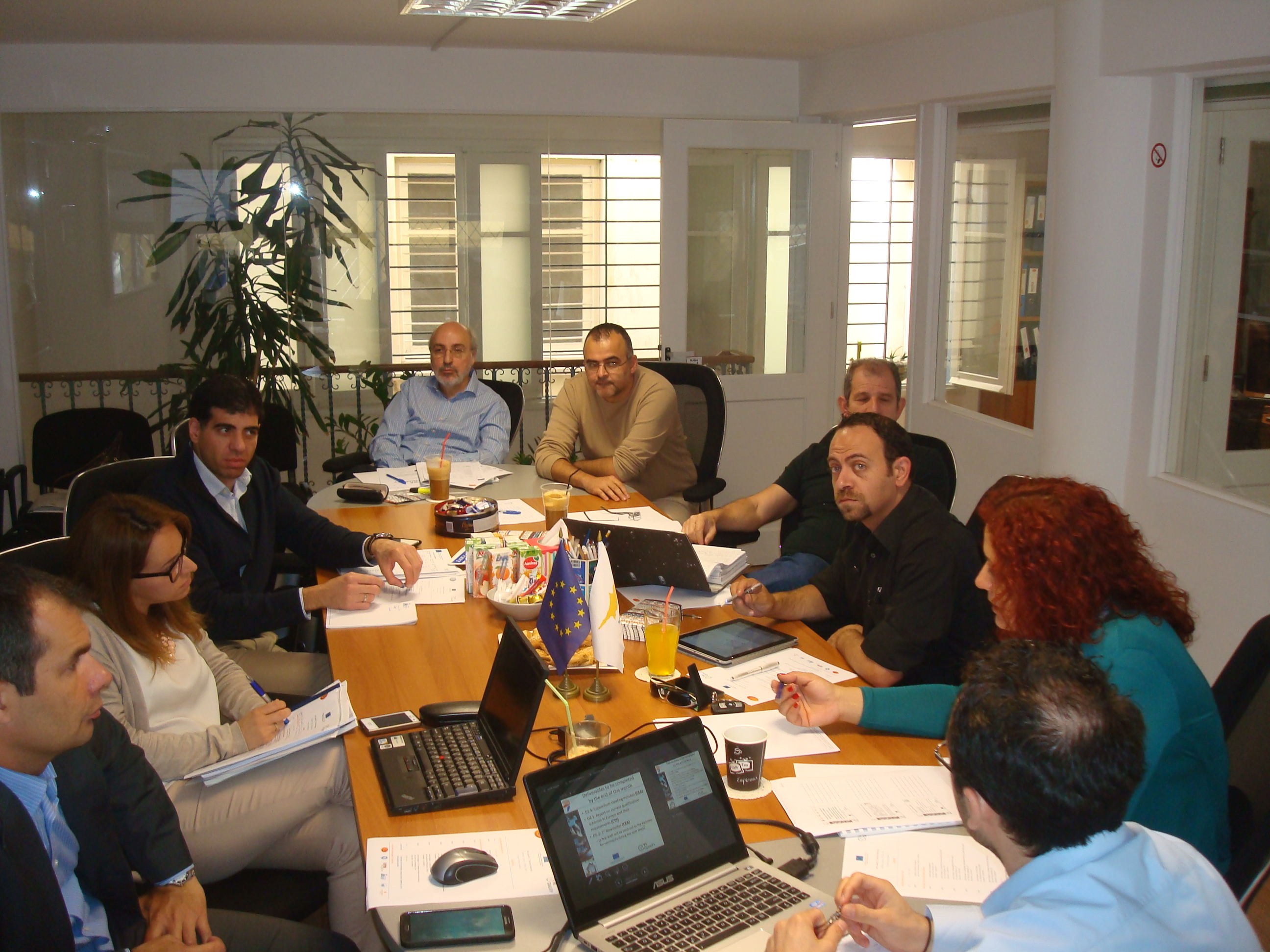 1st Partners' meeting and Nati